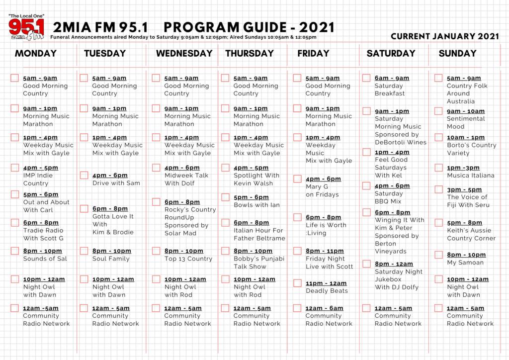 Programs -